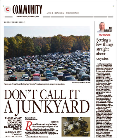 Don't Call It A Junkyard