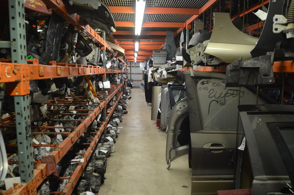 A Portion of Our Large Inventory