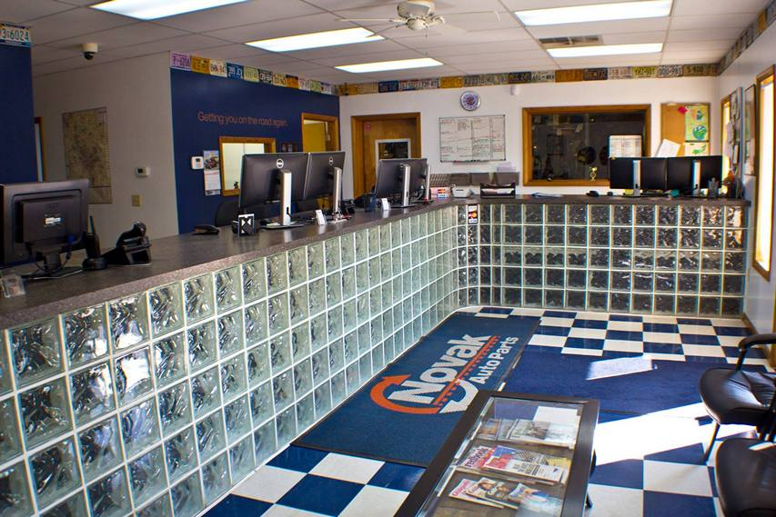Novak Auto Parts Office