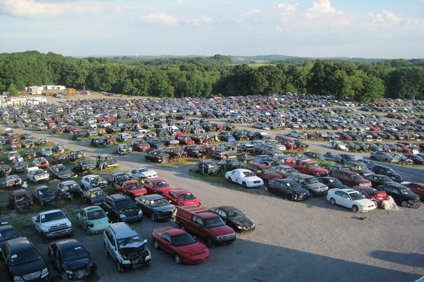Novak Auto Salvage Lot
