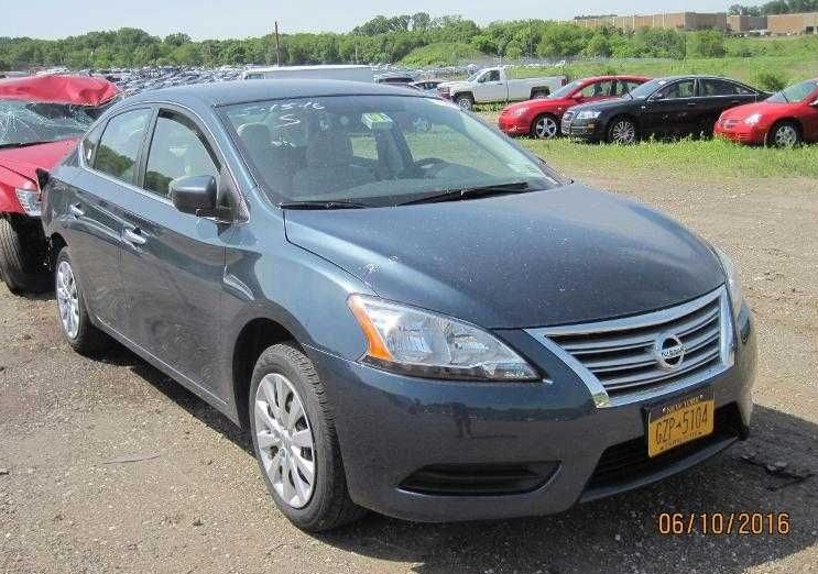 2015 nissan sentra sv parts car for sale novak auto parts. Black Bedroom Furniture Sets. Home Design Ideas