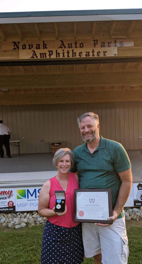 Owners Receive Community Recognition