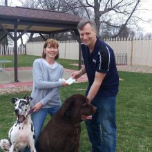 February Donation to Gentle Ben's Giant Breed Rescue